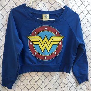 DC COMICS Wonder Woman short sweatshirt size S